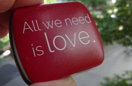 Blechdose Love